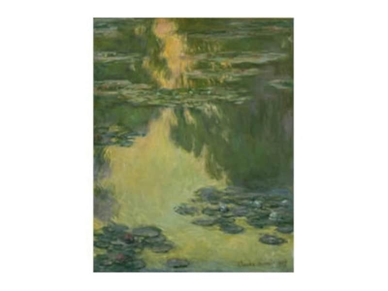 クロード・モネ《睡蓮》1907年