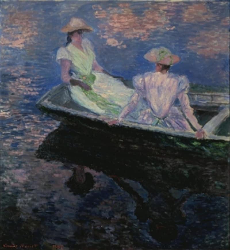 クロード・モネ《舟遊び》国立西洋美術館