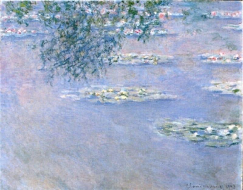 クロード・モネ《睡蓮》1903年