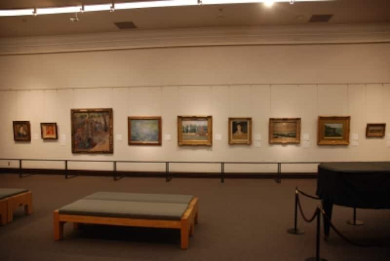 大原美術館館内undefined名品が並ぶ写真提供:大原美術館