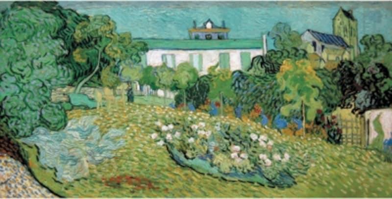 ゴッホ「ドービニーの庭」1890年undefinedひろしま美術館蔵