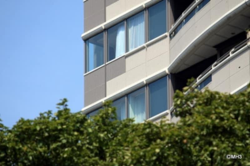 曲線は「愛宕グリーンヒルズフォレストタワー」(住宅棟)でも様々な場面でもいかされた