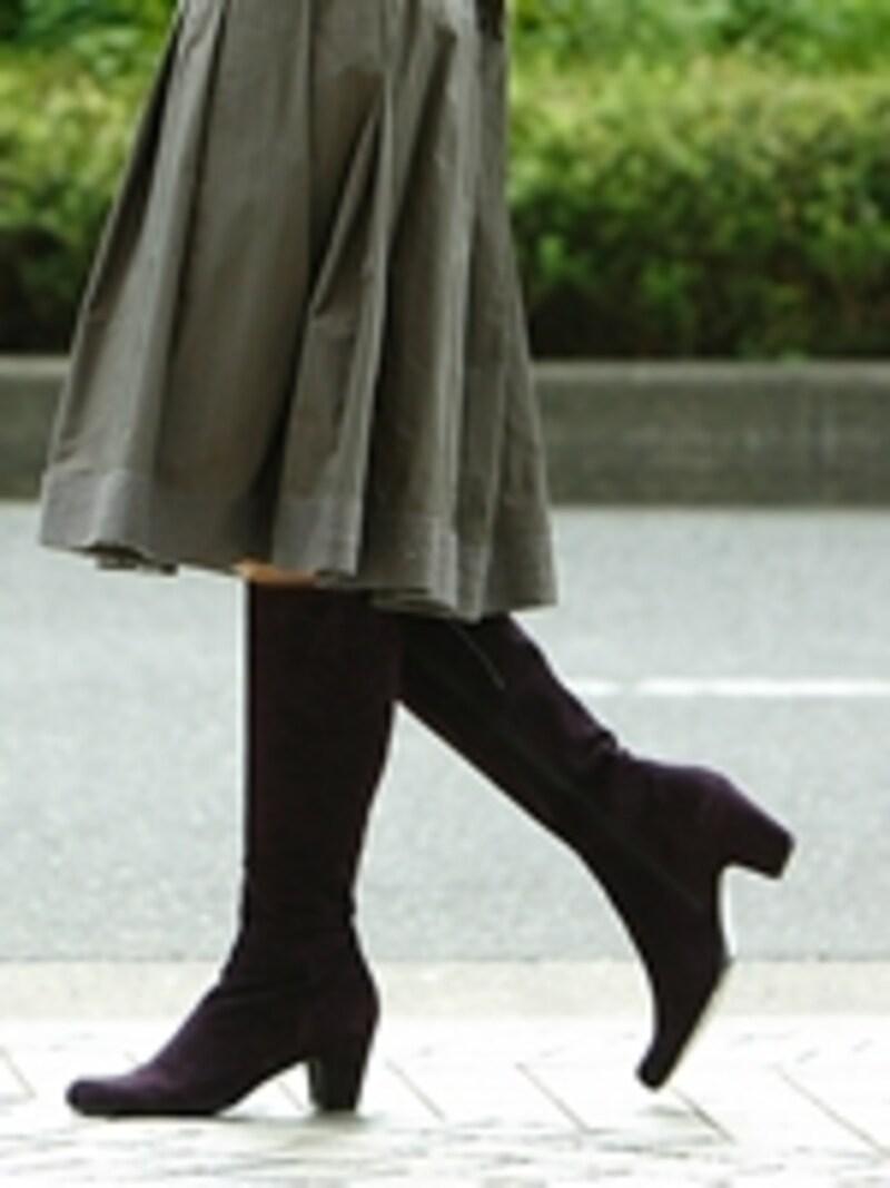 秋冬大活躍のブーツ