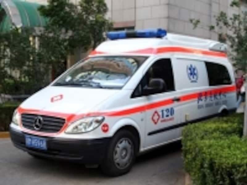 中国の救急車