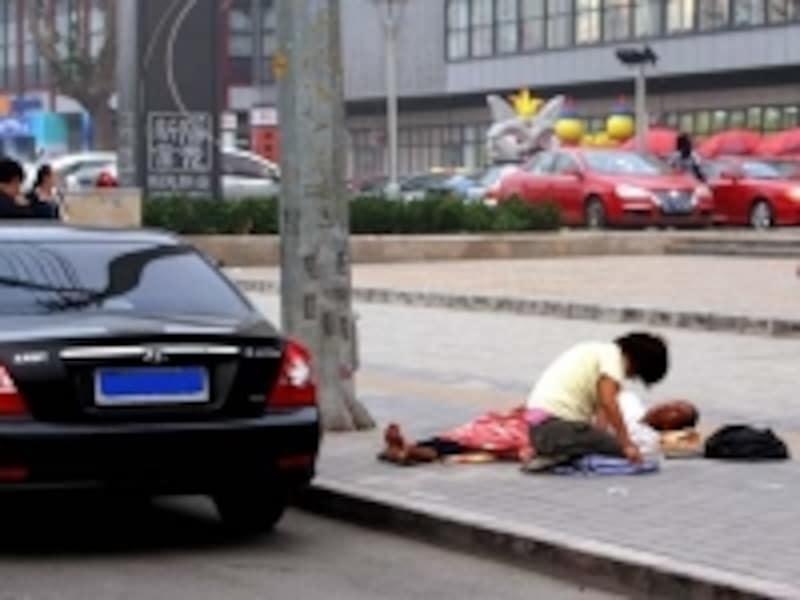 中国の貧困層