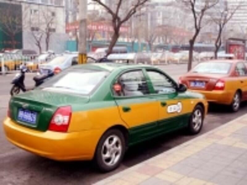 北京のタクシー