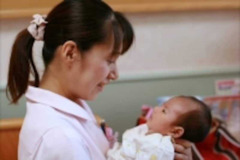 赤ちゃんに優しい病院