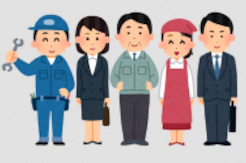 いまは自営業者でも、会社員や公務員の期間があれば2階部分の年金もあり