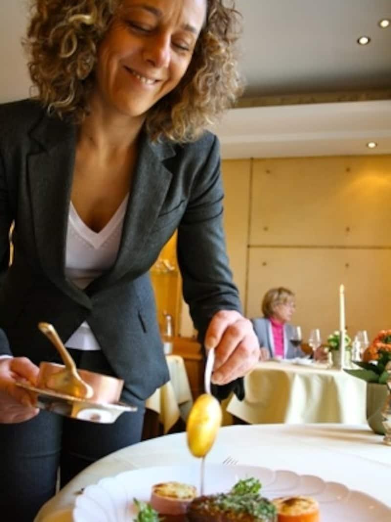 伝統と革新のバランスが見事なレストラン『ブリュノー』