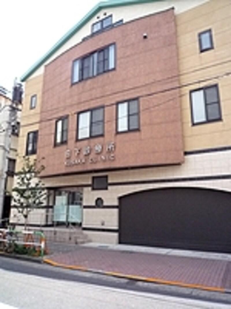 1階は普通の病院、2階にオゾン療法の専用室になっています