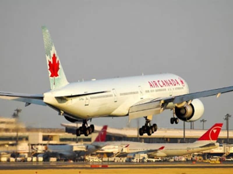 トロントへはエアカナダが成田からの直行便を運行undefined(C)TER