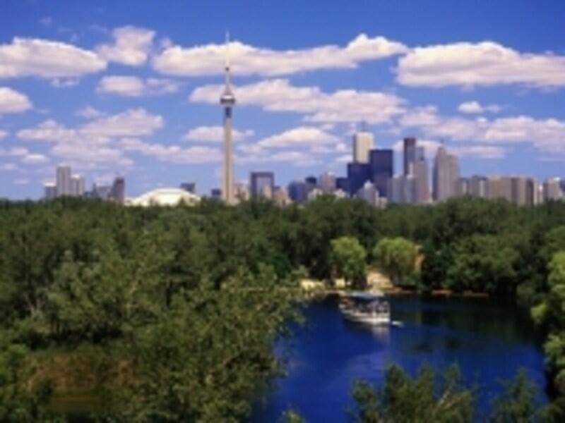 緑豊かなトロントアイランズは、フェリーでたった15分undefined(C)TourismOntario