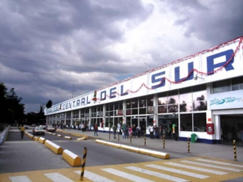 メキシコシティ南バスターミナル