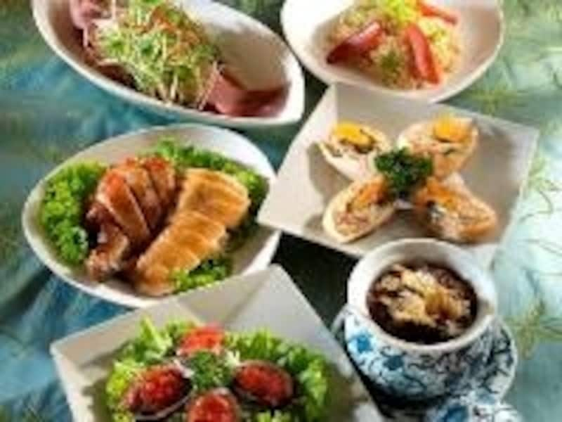 Aobaは洗練された台湾料理が得意。店の雰囲気も◎