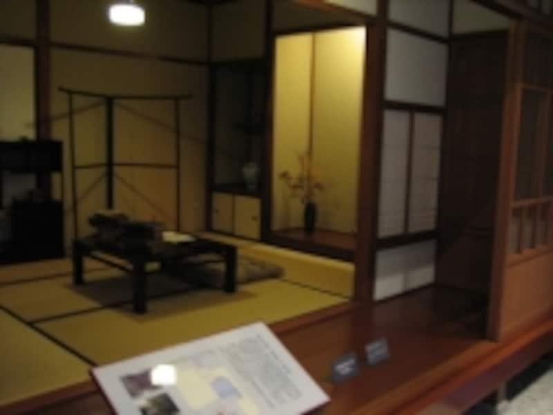 再現された書斎