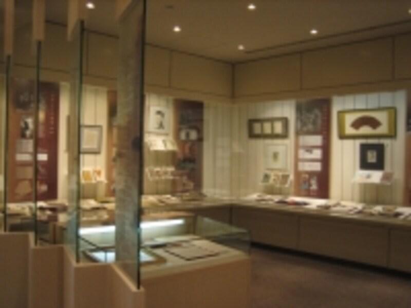 2階の展示室