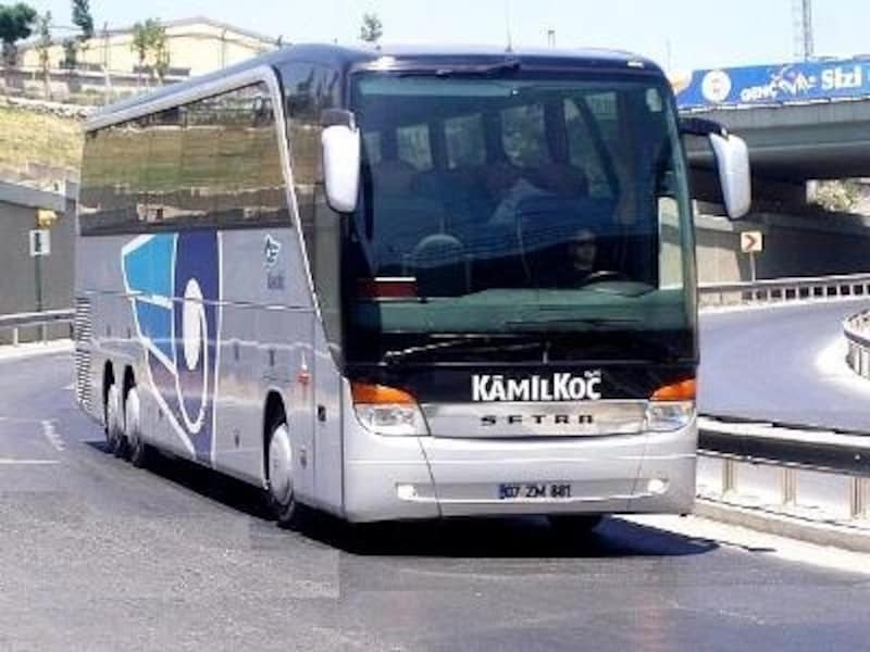 トルコ人の足、長距離バスはかなり快適な環境が整えられている(©KamilKoc)