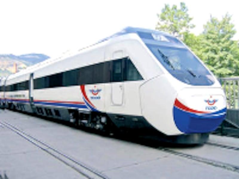 土耳古鉄道の最新特急車両(©TCDD)