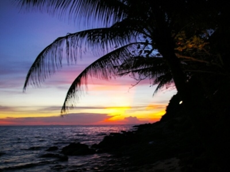 バンコクから陸路で気軽に行けることから、バンコク在住外国人の家族に人気のあるビーチリゾートでもある
