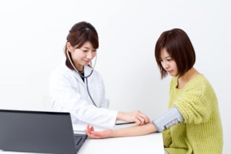 妊婦健診(妊婦検視)の前に毎回する検査は?
