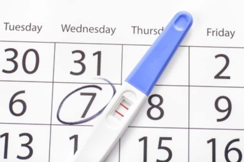 出産予定日の計算は、生理初日からカウント