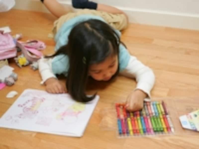 「描くことへの興味が始まる」