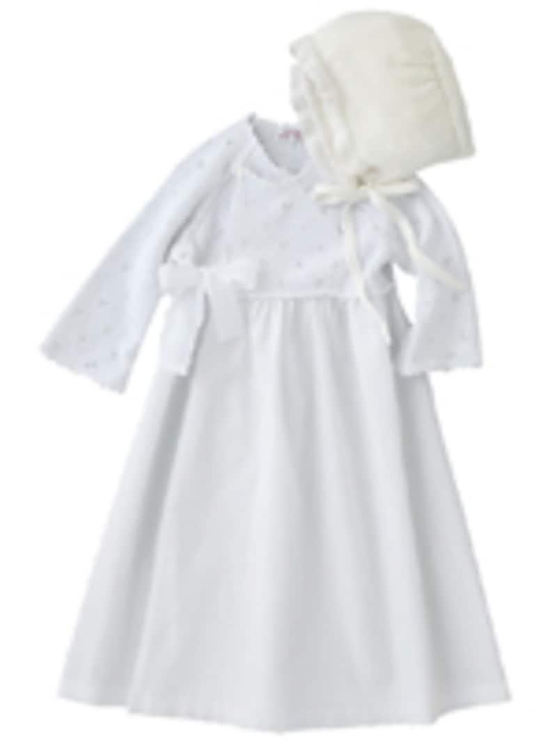 お宮参りに、ベビーフォーマル服。パタシュー(PATACHOU)ベビードレス