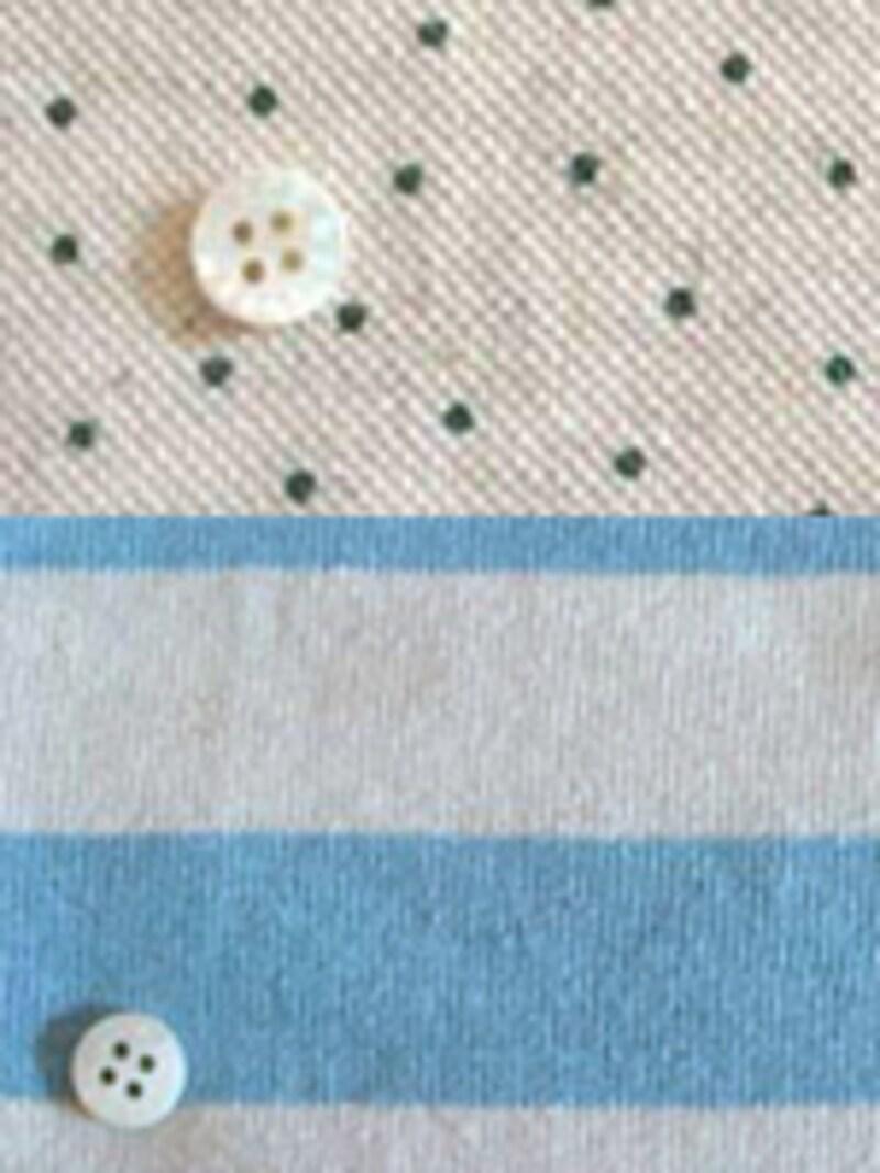 リネン・型紙布ショップ、CHECK&STRIPE