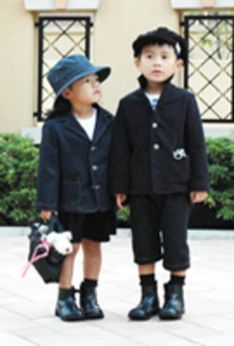 入園入学式準備に、ベビー子供服フォーマルを手作り!選ぶ生地で雰囲気が変わります!