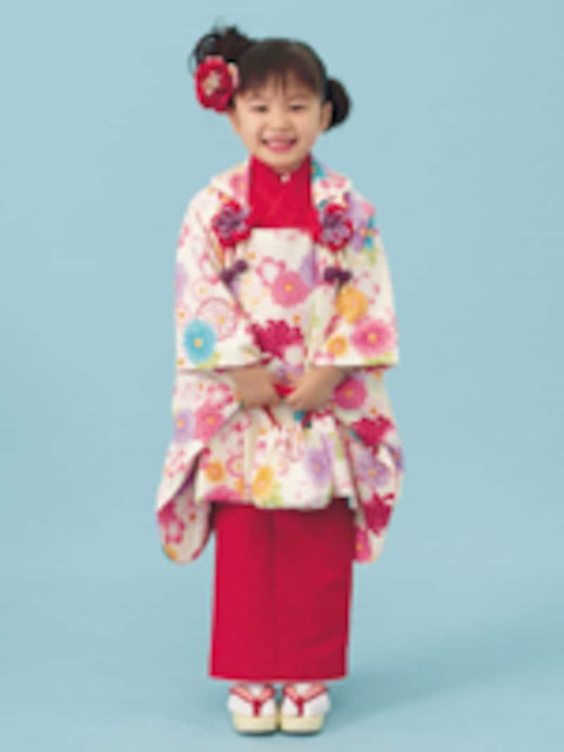 七五三写真撮影で人気のスタジオアリス、今年の一押しはベッキーデザインの着物!