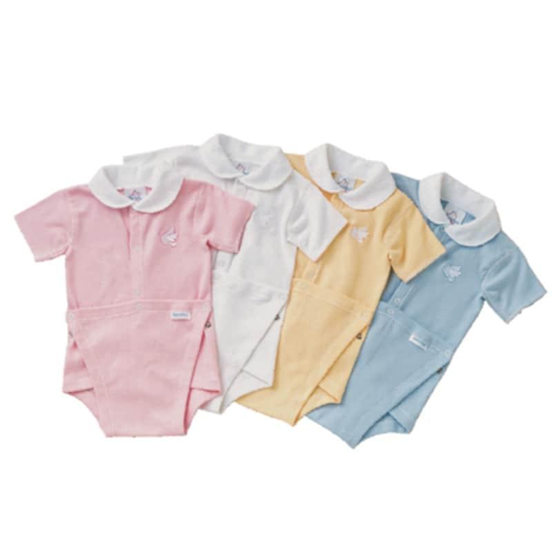 ベビー子供服ブランドベビーズオウン(baby'sown)のラップアップロンパースをご紹介します!