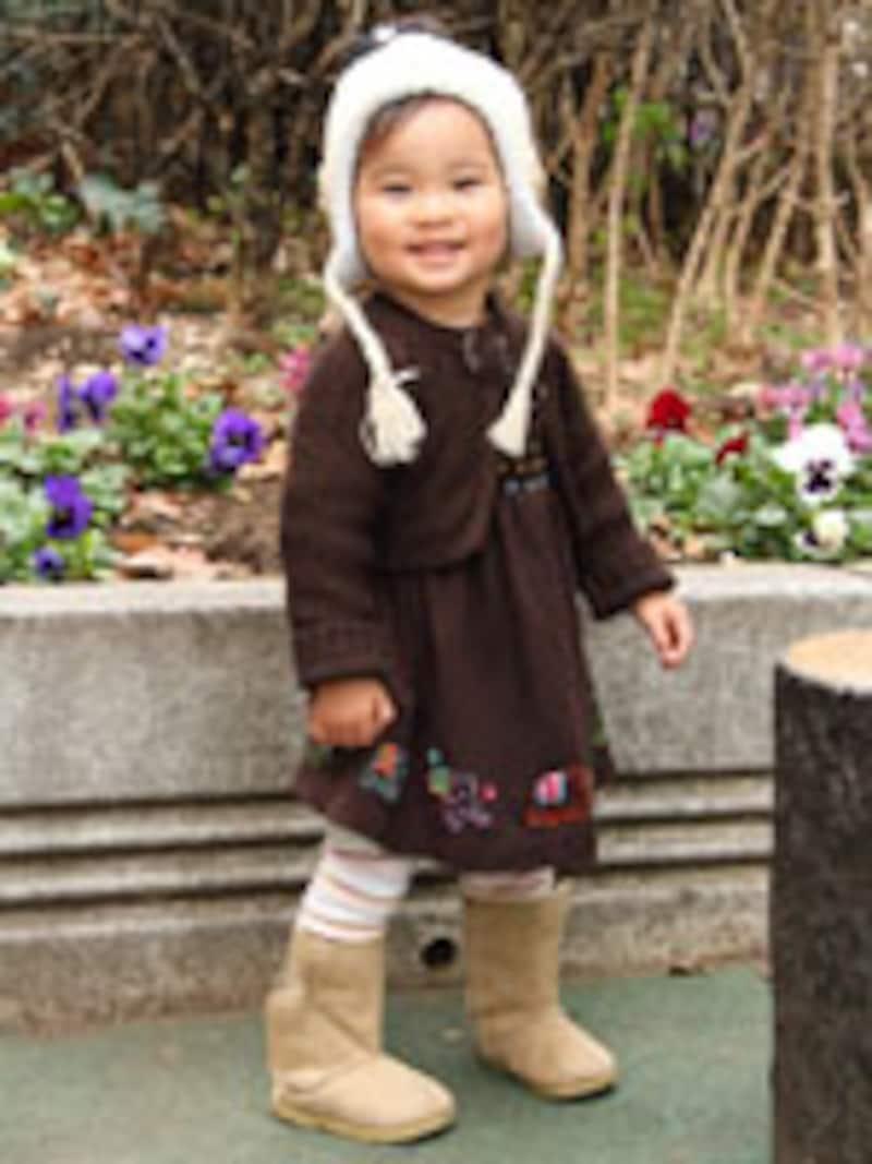 キッズのストリート・ファッションスナップに見る、冬の子供服最新コーディネートをご紹介します。