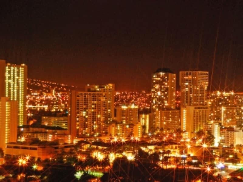 ホテル滞在時間が短い人は、夜景が見える部屋がおすすめ