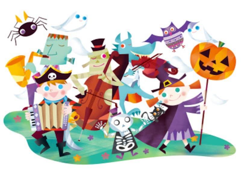 英語じゃんけんゲームでハロウィンを楽しむ!