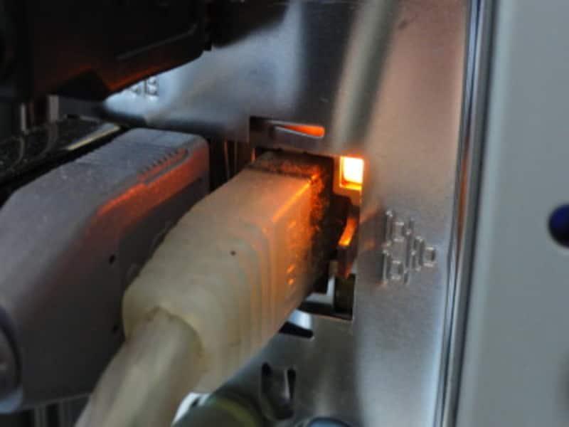 このようにリンクLEDが点灯していれば結線は大丈夫だ。