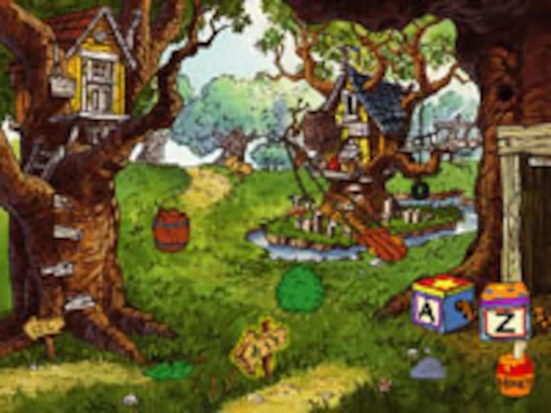 100エーカーの森 の画面イメージ