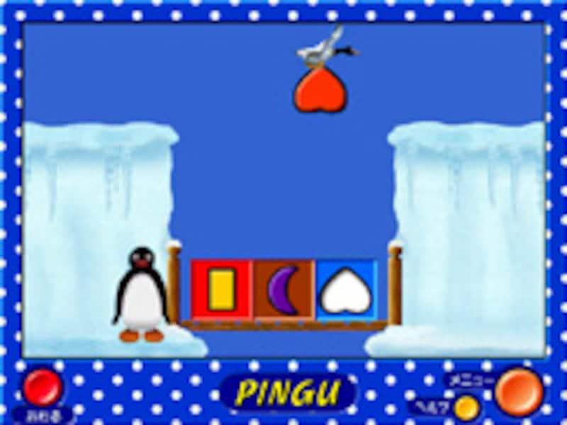 ピングーのかたちあわせの画面イメージ