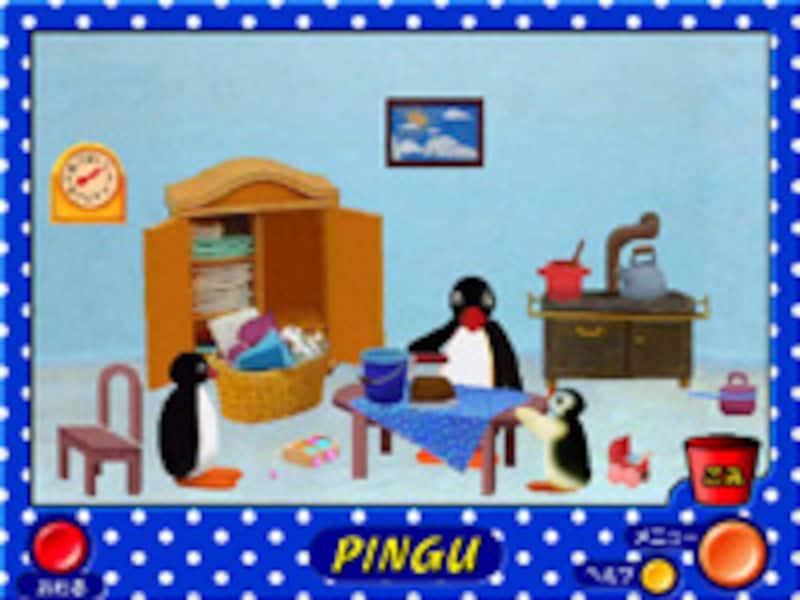 ピングーのめいろの画面イメージ