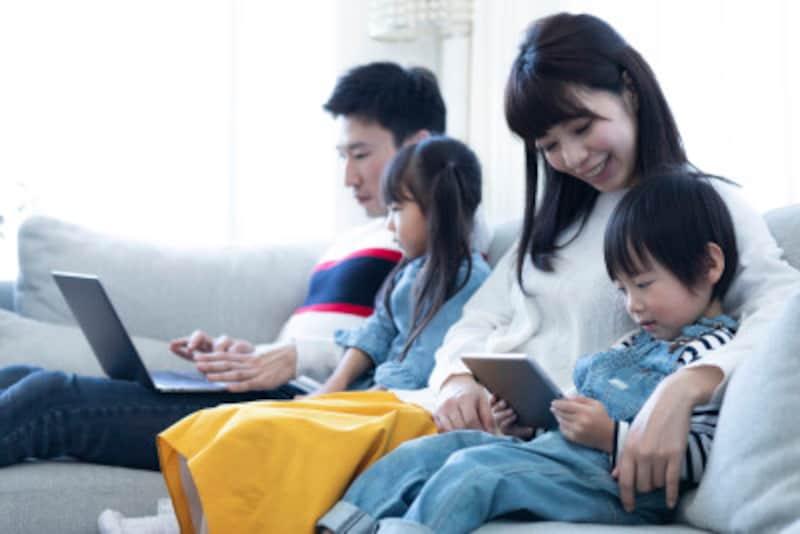 個人情報保護と正しいネット利用はご家族全員の心がけが大切です