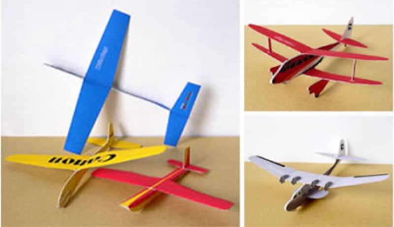 色々なタイプの紙飛行機が揃うCanonクリエイティブパーク