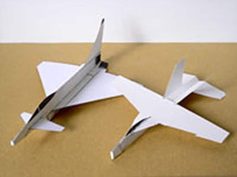 切り取りも組立ても簡単!ASPaperAircraftLaboratory