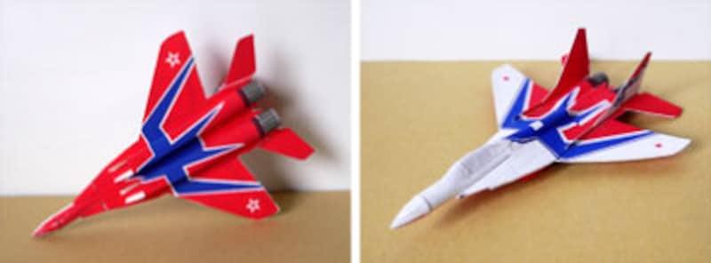 裏までしっかり作りこまれたデザインOjimakの紙飛行機