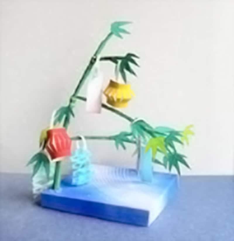 笹徳印刷季節の風物詩(写真はガイドが実際に作った試作品)