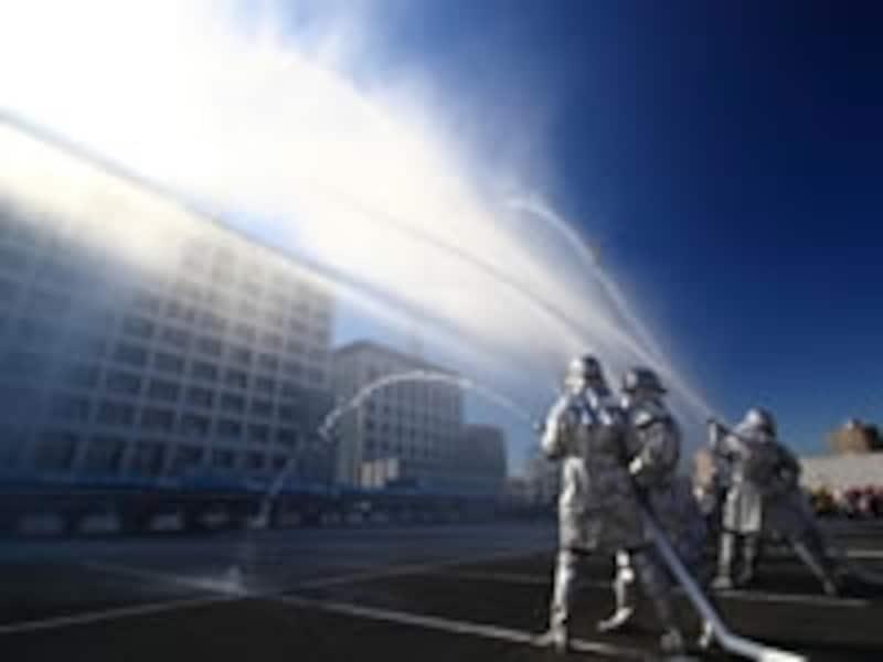 消防による被害は、火災保険で補償される