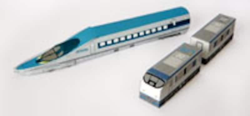 新幹線から懐かしの列車やSLまで!JR西日本ペーパークラフト