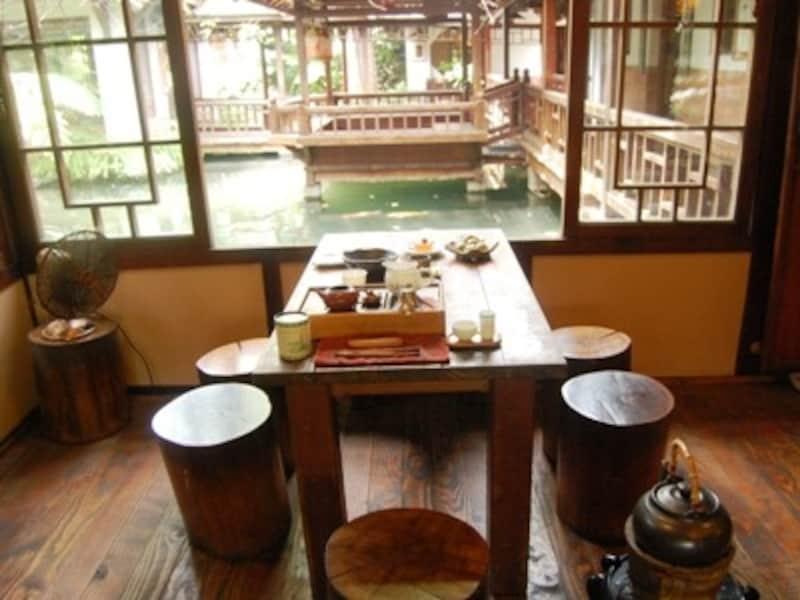 台中市にある茶芸館、無為草堂で午後のティータイムを過ごしたい