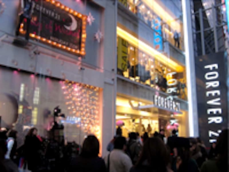 FOREVER 21からXmasプレゼント!