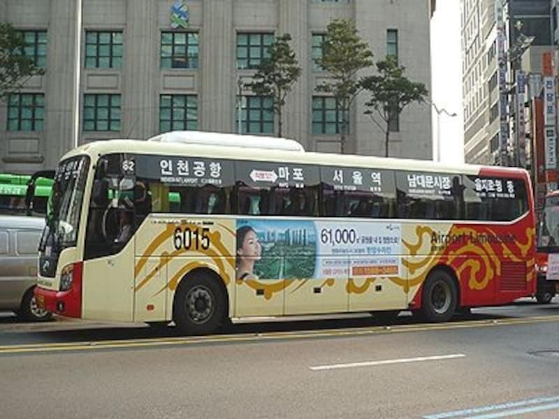 空港ーソウル市内の移動にはリムジンバスが便利!