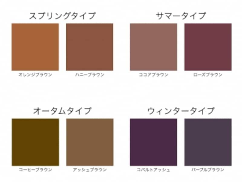 似合わないヘアカラーの色は、肌や瞳の色と不調和をきたします。パーソナルカラーは、似合うヘアカラーの色選びの指針となるでしょう。