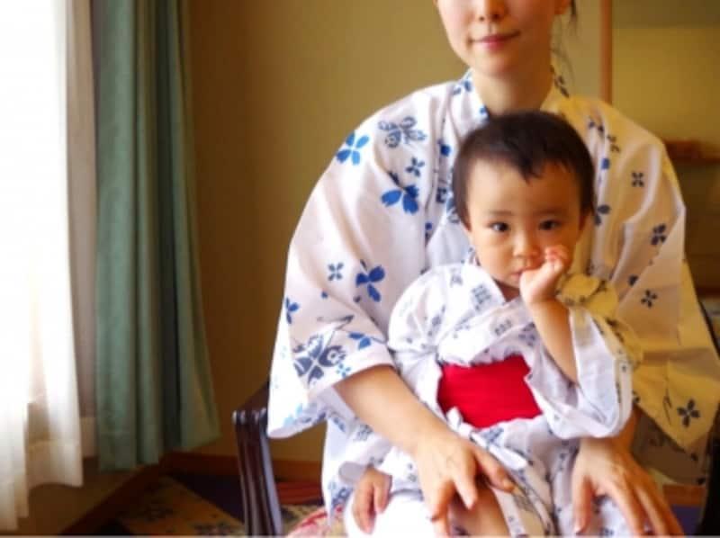 赤ちゃん歓迎の温泉宿も増えてきました